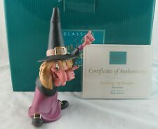 """WDCC """"Brewing Up Trouble"""" Witch Hazel from Trick or Treat in Box with COA"""