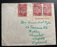 1939 Calgary Canada Cover To Lowestoff England