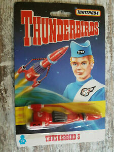 Vintage - Matchbox - Thunderbirds - 3 Fusée - 1993 - Tyco Jouets Emballage