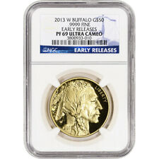 2013-W American Gold Buffalo Proof (1 oz) $50 - NGC PF69 UCAM - Early Releases