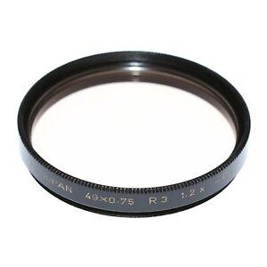 Heliopan 49mm Korrektur-Filter Heliopan 49 x 0.75 R3 1.2x - 0.2 vom Händler