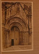 Unposted Postcard Durham Cathedral, North Door Frith series