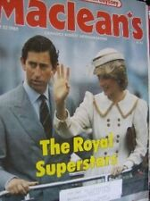 Maclean's Canadian Magazine June 27, 1983 Charles & Diana In Canada, Sally Ride