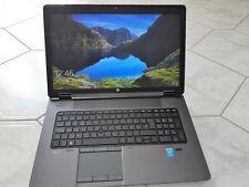 HP ZBook G2 17,3 Zoll (256GB SSD, Intel Core i7 4. Gen, 4x2,40GHz, 16GB RAM)