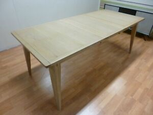 New Large Scandinavian Oak Extending Dining Table 1.6-2.05M *Ducal Furniture*