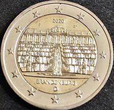 2 EUROS CONMEMORATIVA ALEMANIA 2020 *Brandenburgo* SIN CIRCULAR