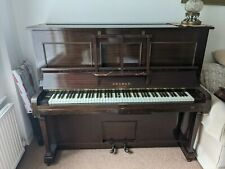More details for pianola - upright cramer piano/pianola with stool