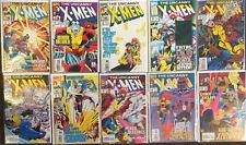 Uncanny X-Men #301 302 303 304 305 306 307 308 309 310 Marvel Comics Lot