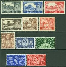 GREAT BRITAIN : Very clean lot of VF, Mint OGH Better items. SG Catalog £361.00.