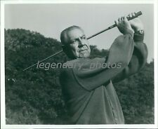 1960's Olin Dutra PGA Hall of Fame Golfer US Open Champ Orig News Service Photo