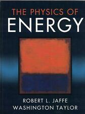 The Physics of Energy Jaffe ISBN 9781107016651