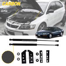 Carbon Bonnet Hood Gas Strut Lift Damper Kit for HONDA 1992 - 1996 Prelude