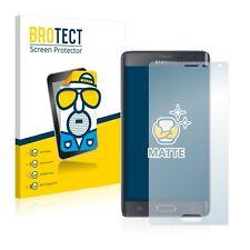 2x Displayschutzfolie Matt für Samsung Galaxy Note Edge Schutzfolie