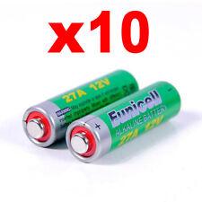 27A 10 12V Batterie Alkali- Schlüsselanhänger Fernbedienung Sensoren Wireless D
