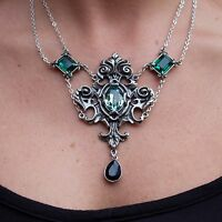 GENUINE Alchemy Gothic Pendant - Queen Of The Night   Ladies Fashion Necklace