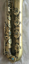 Professional Eastern music New Antique color Baritone Saxophone with carry case