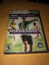 Your Shape: Fitness Evolved 2012 (Microsoft Xbox 360, 2011) Factory Sealed New