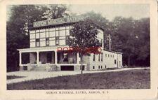 1908 AKRON MINERAL BATHS, AKRON, N.Y.