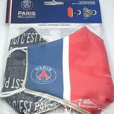 Paris Saint-germain 2 x Masque anti projections Réutilisable Lavable PSG Colle
