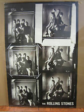 Vintage 2003 The Rolling Stones black and white poster rock band  3661