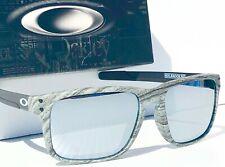 NEW* Oakley HOLBROOK MIX Woodgrain Frost POLARIZED Galaxy Mirror Sunglass 9384