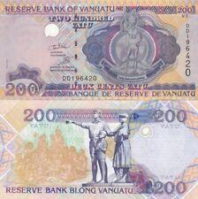 Vanuatu banconota del 1995 200 vatu FDS