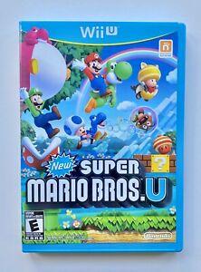 New Super Mario Bros U (Nintendo Wii U, 2012) (COMPLETE!) Tested