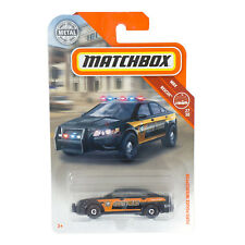Matchbox Ford Police Interceptor MBX Rescue 27/30 Die Cast