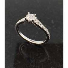 Diamond Jewellery 18ct White Gold 0.35ct Diamond Ring JH000030