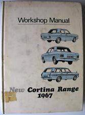 FORD CORTINA RANGE - Car Workshop Manual - Mar 1968 - #CG420/3041E