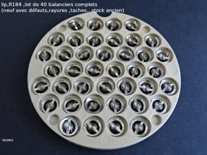 lip R184  ,  lot de 40 balanciers  , nad(stock ancien)