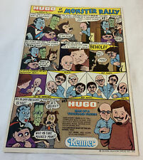 1975 Kenner Cartoon Anuncio Página ~ Hugo-Man Of A Mil Caras