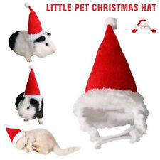 Small Animal Pet Santa Claus Hat Rabbit Hamster Guinea Pig Rats Christmas Cap