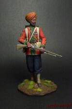 Tin soldier figure Sergeant of the 15th Bengal Regiment of British India 54mm