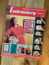 McCall's Embroidery with step-by-step instructions for beginners