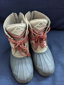 Sperry Duck Boots Size 7.5