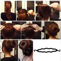 Fashion Magic Hair Twist Styling Clip Stick Bun Maker Braid Tool High Quality