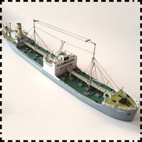 1:400 Scale Poland Tanker Karpaty Ship DIY Handcraft Paper Model Kit