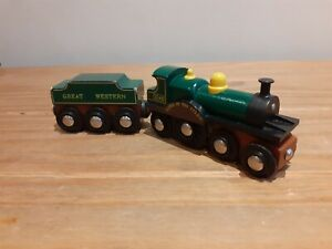 Wodden Brio Lord Of The Isles North Western Train