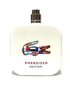 "LACOSTE 12.12 Energized Men Cologne 100ml-3.4oz EDT SPR New ""No Box No Cap""(IA31"