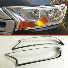 ABS Chrome Headlight Lamp Cover Trim For Ford Everest 2016 2017 2018