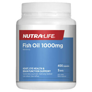 Fish Oil 1000mg by NutraLife 400 caps