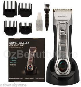 Silver Bullet Ceramic Pro Cordless Turbo Professional Hair Clipper