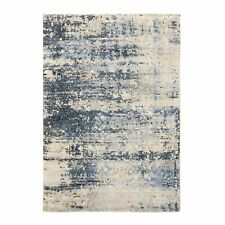 "6'x9'3"" Abstract With Mosaic Design Wool & Silk Hand Knotted Oriental Rug R58386"