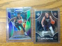 2019 Ja Morant Panini Prizm Draft Pick Purple Green RC/199 & Luka Doncic Crusade