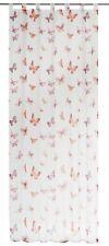 Schlaufenschal Mariposa orange - weiß transparent 140x255cm