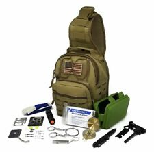 Military Tactical Sling Bag Survival Emergency Kit Outdoor Hiking Camping m23