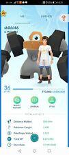 Pokémon Go Account Ptc Shiny raikou S entei S melmetal S rayquaza S kyogre