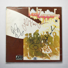 Led Zeppelin Signed Vinyl Record Led Zeppelin Album II Great Condition