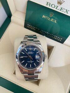 Rolex Datejust 41 2020 Stickered